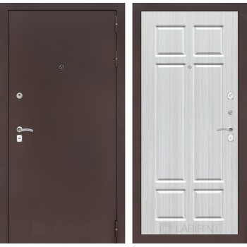 Дверь CLASSIC 08 медный антик – Кристалл вуд