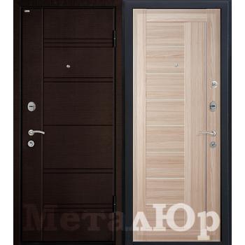 Дверь МеталЮр M17 (капучино мелинга)