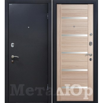 Дверь МеталЮр M41 (капучино мелинга)