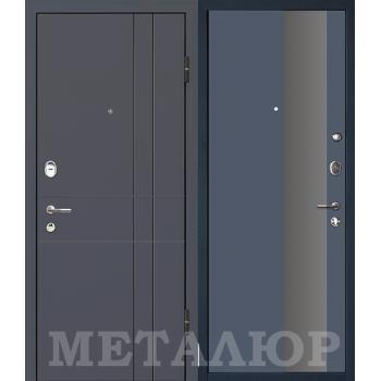 Дверь МеталЮр M16 (антрацит)