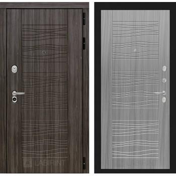 Дверь SCANDI 06 Дарк грей –  Сандал серый