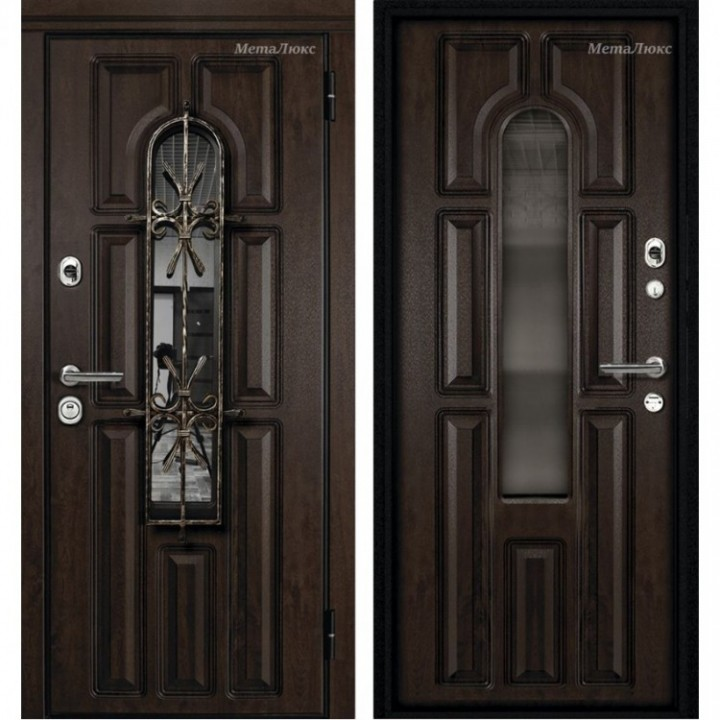 Дверь МетаЛюкс Элит СМ60