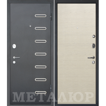 Дверь МеталЮр M29 (Дуб французский капучино)