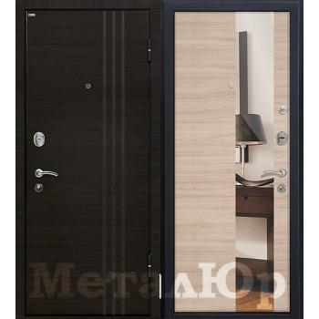 Дверь МеталЮр M15 (капучино кроскут)