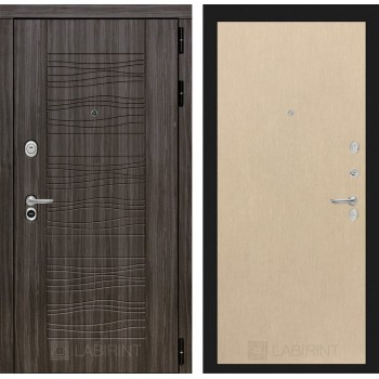 Дверь SCANDI 05 Дарк грей – Венге светлый