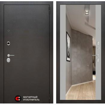 Дверь SILVER с Зеркалом – Грей Софт