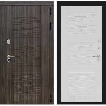 Дверь SCANDI 06 Дарк грей –  Белое дерево