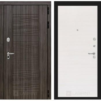 Дверь SCANDI 07 Дарк грей – Горизонтальный перламутр