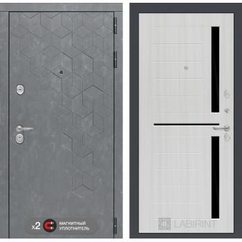 Дверь BETON 02 - Сандал белый