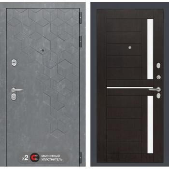 Дверь BETON 02 - Венге