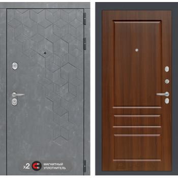 Дверь BETON 03 - Орех бренди