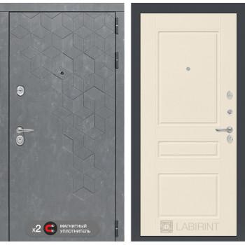 Дверь BETON 03 - Крем софт