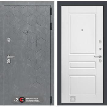 Дверь BETON 03 - Белый софт