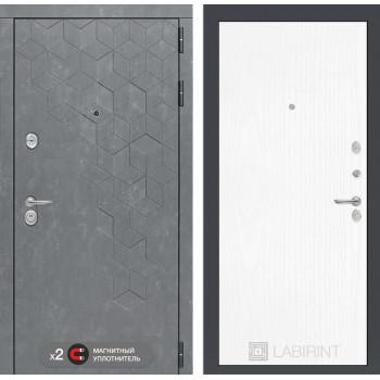 Дверь BETON 07 - Белое дерево