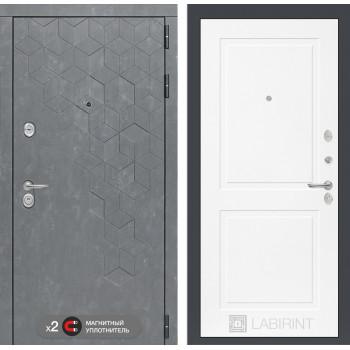 Дверь BETON 11 - Белый софт