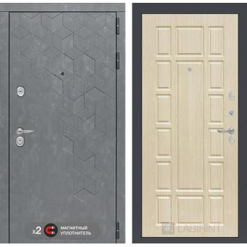Дверь BETON 12 - Беленый дуб