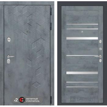 Дверь BETON 20 - Бетон темный