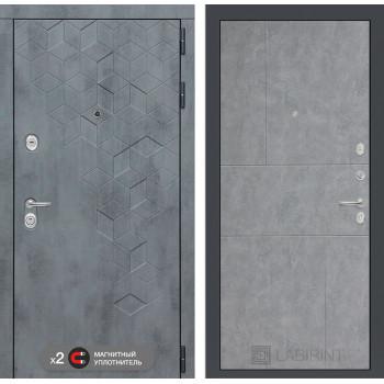 Дверь BETON 21 - Бетон светлый