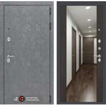 Дверь BETON с Зеркалом Максимум - Венге