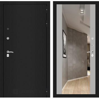 Дверь CLASSIC Максимум-Грей софт (Большое зеркало)