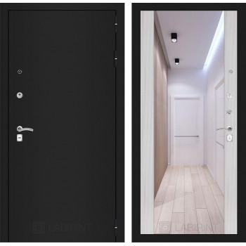 Дверь CLASSIC Максимум-Белый сандал (Большое зеркало)