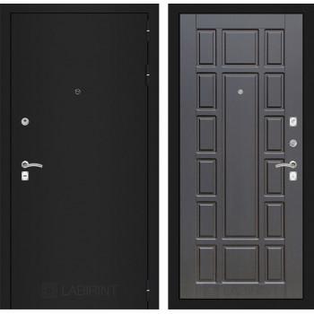 Дверь CLASSIC 12 черная шагрень – Венге