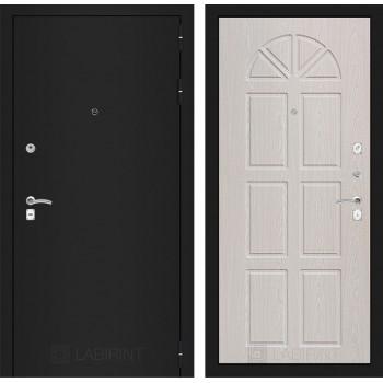 Дверь CLASSIC 15 черная шагрень – Алмон 25 (Винорит)