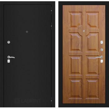 Дверь CLASSIC 17 черная шагрень – Голден ОАК (Винорит)