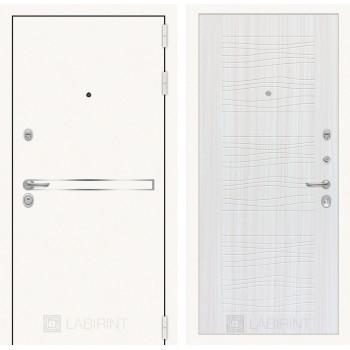 Дверь LINE WHITE 06 - Сандал белый