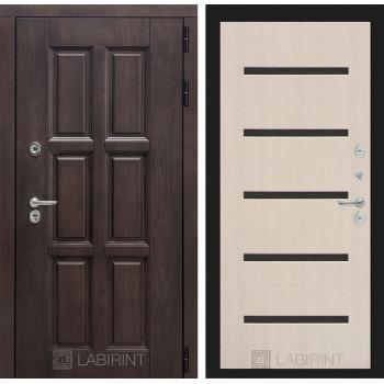 Дверь Лабиринт LONDON 01 — Беленый дуб