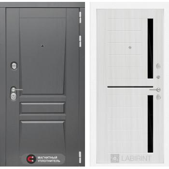 Дверь PLATINUM 02 - Сандал белый