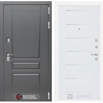 Дверь PLATINUM 14 - Дуб кантри белый горизонтальный