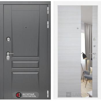 Дверь PLATINUM с Зеркалом  - Акация светлая
