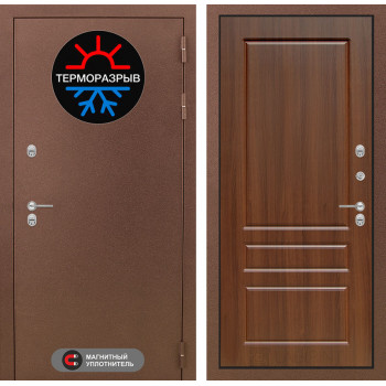 Дверь Лабиринт – Термо Магнит 03 Орех бренди