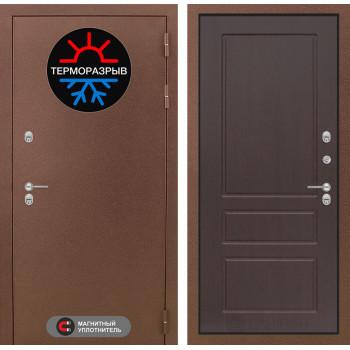 Дверь Лабиринт – Термо Магнит 03 Орех премиум