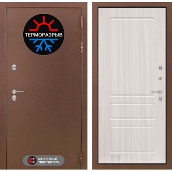 Дверь Лабиринт – Термо Магнит 03 Сандал белый