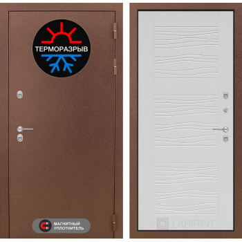 Дверь Лабиринт – Термо Магнит 06 Белое дерево