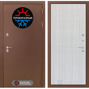 Дверь Лабиринт – Термо Магнит 06 Сандал белый