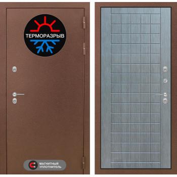 Дверь Лабиринт – Термо Магнит 09 Лен сильвер грей