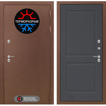 Дверь Лабиринт – Термо Магнит 11 Графит софт