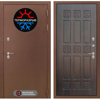 Дверь Лабиринт – Термо Магнит 16 Алмон 28 (Винорит)
