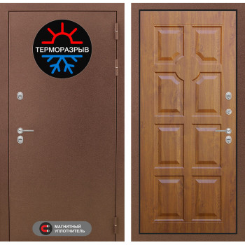 Дверь Лабиринт – Термо Магнит 17 Голден ОАК (Винорит)