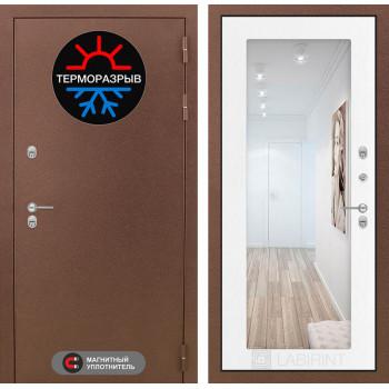 Дверь Лабиринт – Термо Магнит 18  Белое дерево