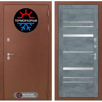 Дверь Лабиринт – Термо Магнит 20  Бетон темный