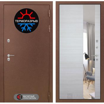 Дверь Лабиринт – Термо Магнит с Зеркалом  Акация светлая