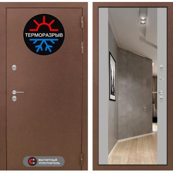 Дверь Лабиринт – Термо Магнит с Зеркалом Максимум  Грей софт