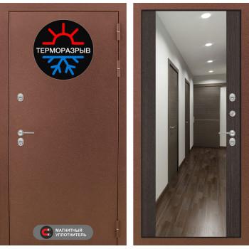 Дверь Лабиринт – Термо Магнит с Зеркалом Максимум  Венге