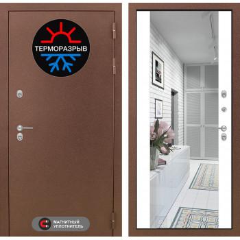 Дверь Лабиринт – Термо Магнит с Зеркалом Максимум  Белый софт
