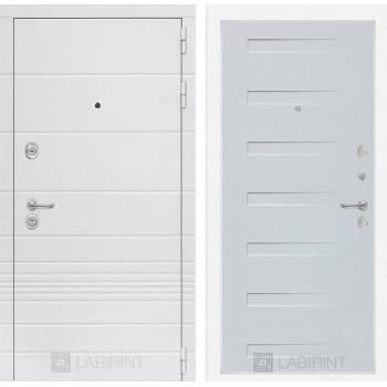 Дверь TRENDO 14 - Дуб кантри белый горизонтальный