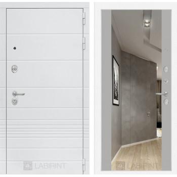 Дверь TRENDO с Зеркалом Максимум - Грей софт